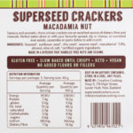 Macadamia Nut Crackers back of packet