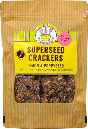 Lemon & Poppyseed Crackers packet